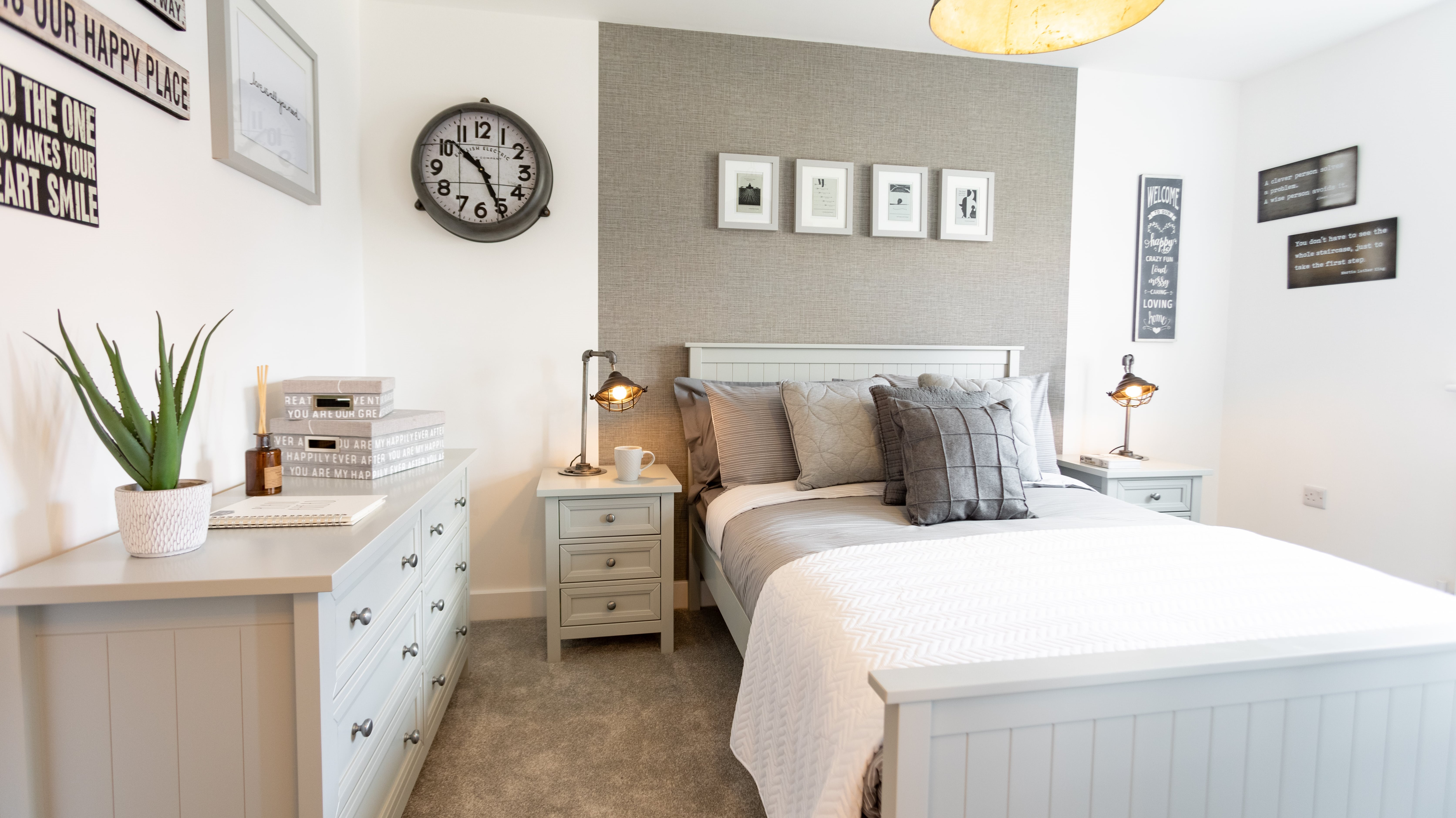 The Malham Show Home - Erris Homes, Orchard Croft Guest Bedroom