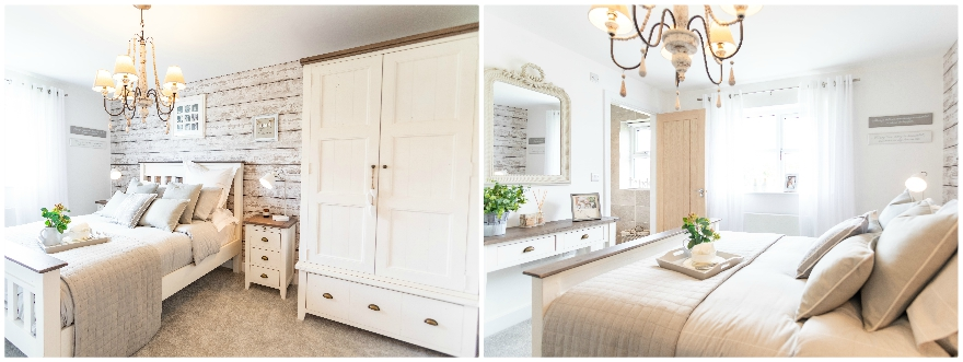 The Malham Show Home - Erris Homes, Orchard Croft Master Bedroom